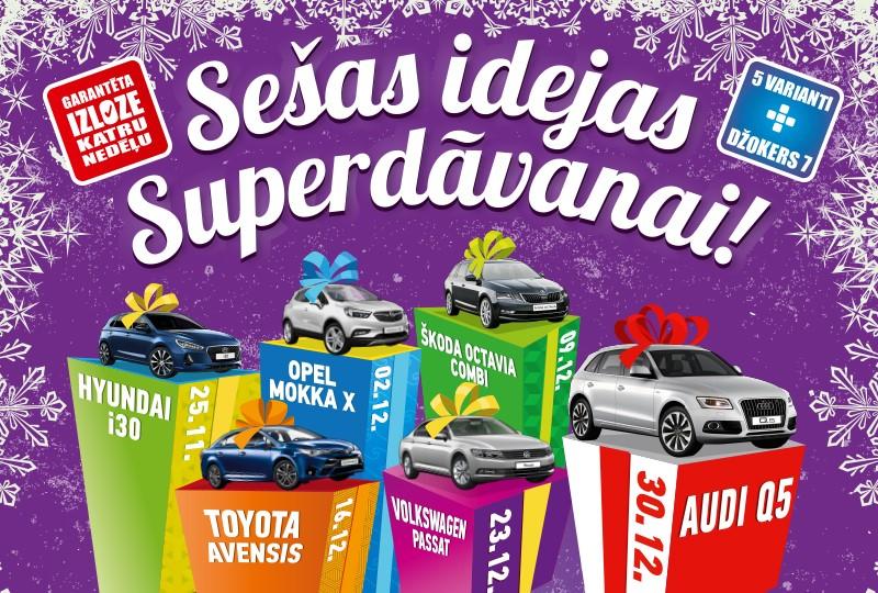 Sešas idejas Superdāvanai -  ar SuperBingo